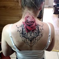 Rose Mandala Coverup