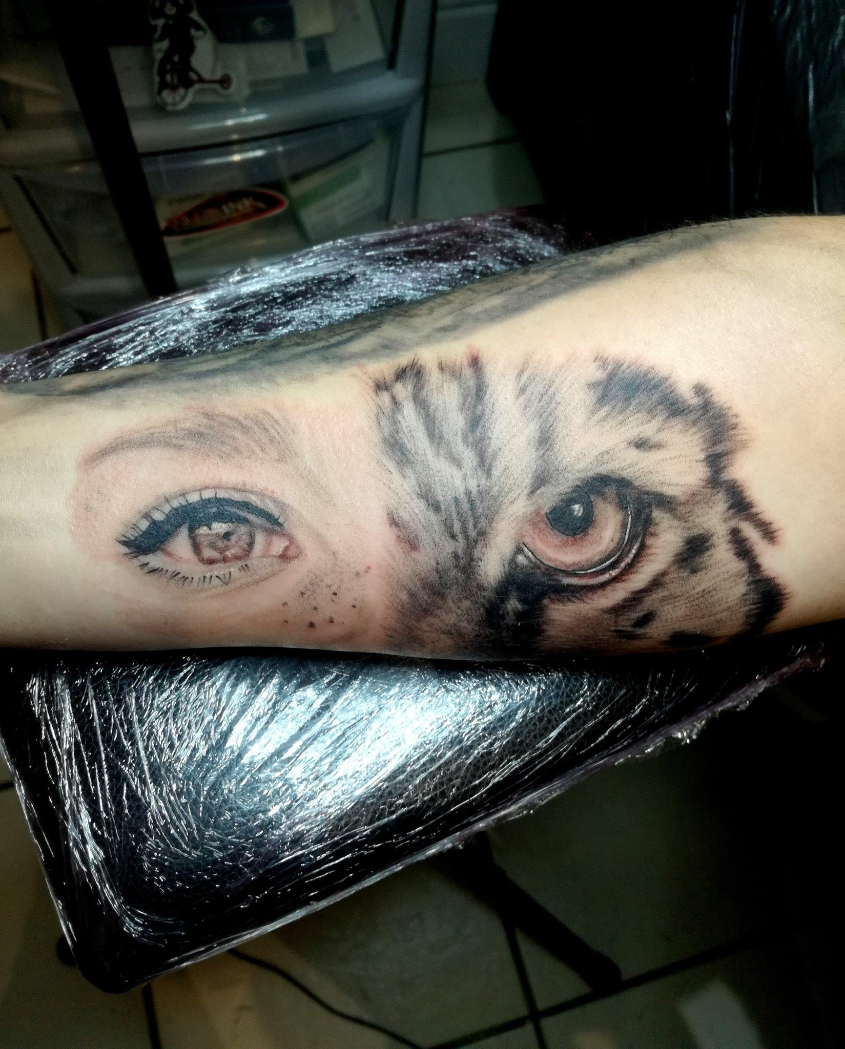 Eye and Tiger