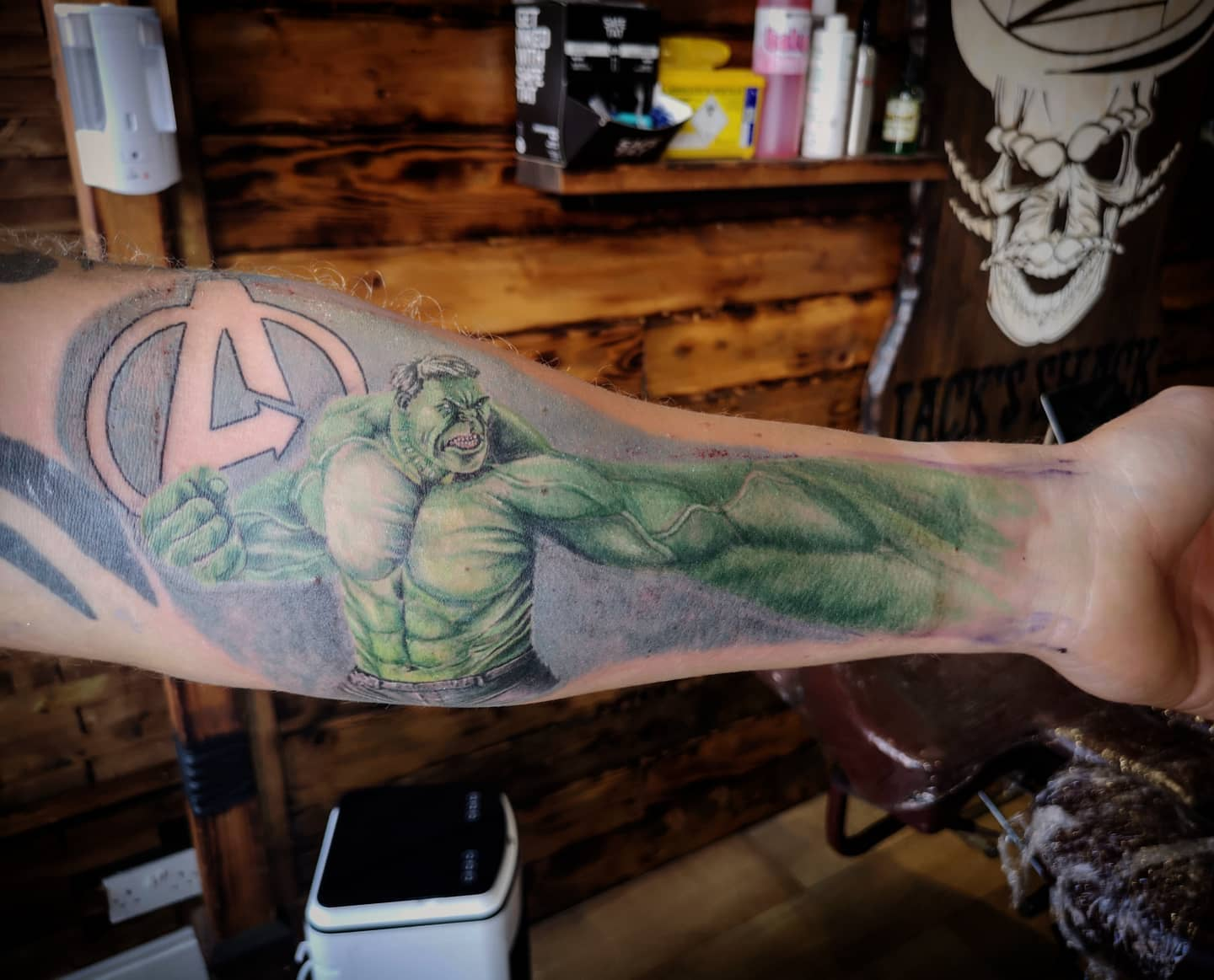 Hulk Perspective Arm