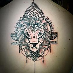 Lion Mendhi