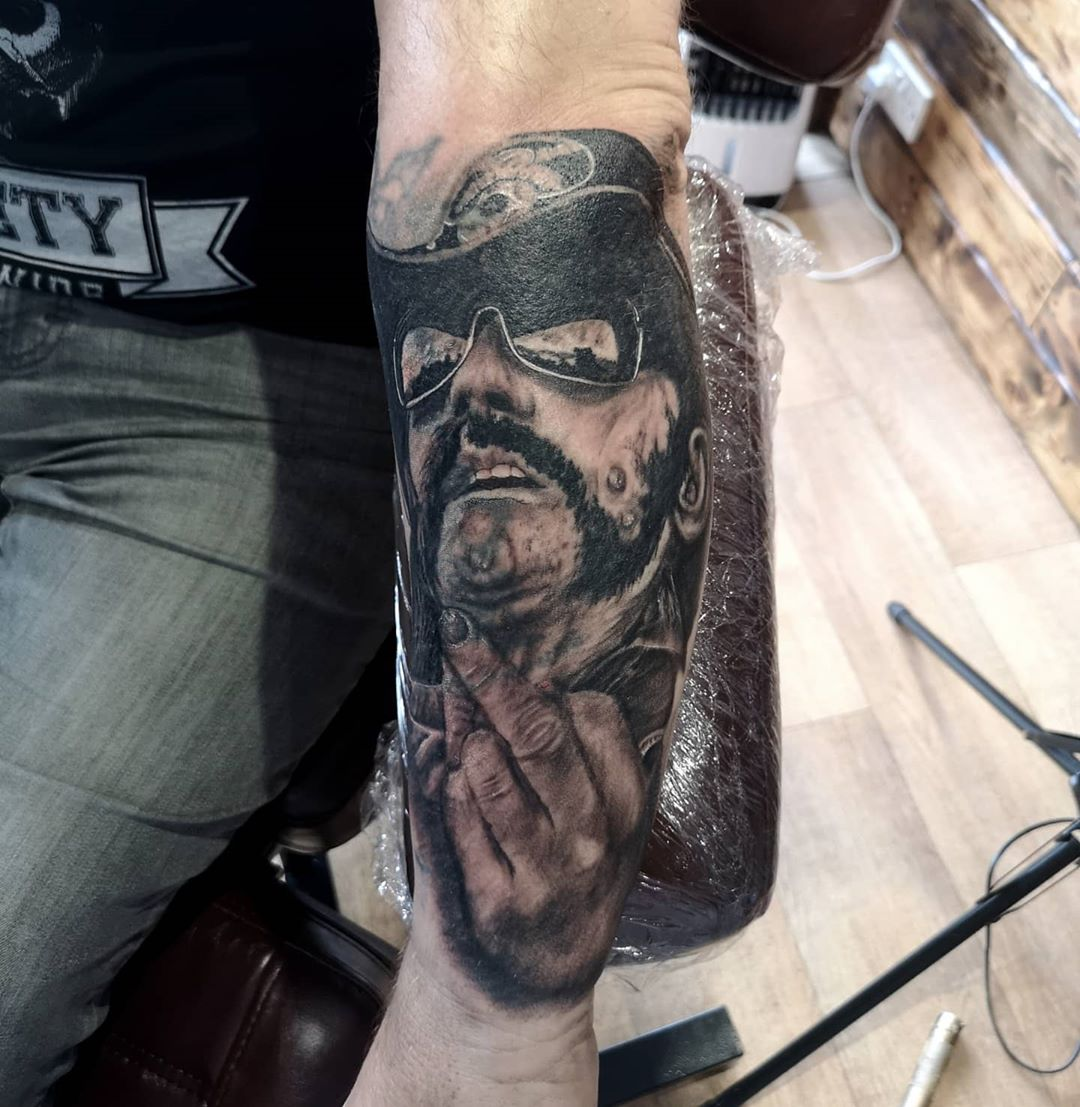 Lemmy cover tattoo