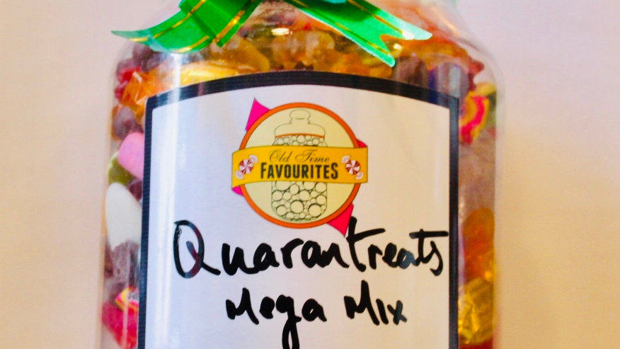 Quarantreats Mega Mix Jar