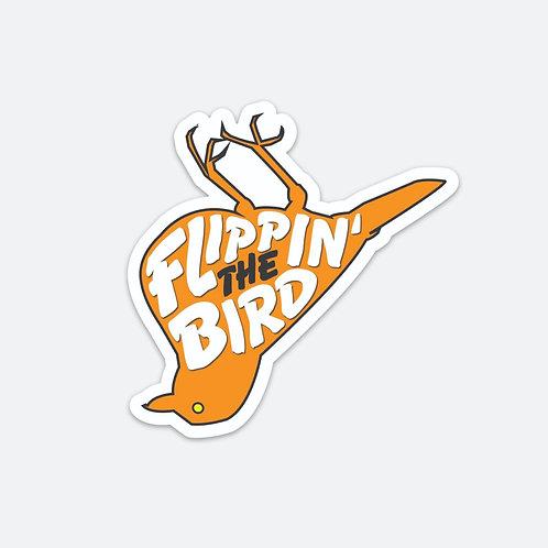 Flippin' The Bird Magnet - 4 x 4