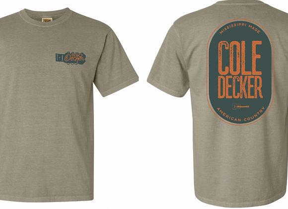 """""""Cole Decker"""" Sandstone Color Shirt"""