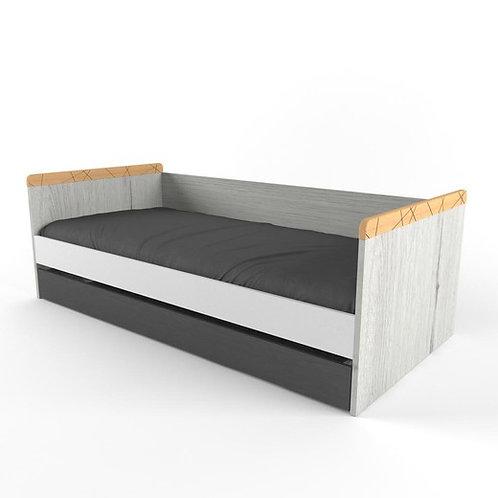 Кровать с дополнительным спальный местом Нью Тон Грей