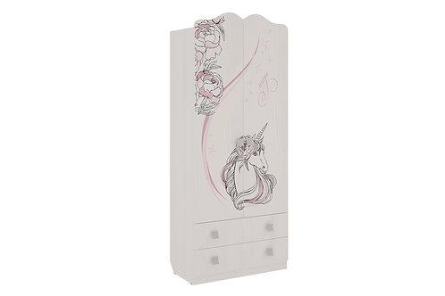 Шкаф комбинированный с 2мя яшиками