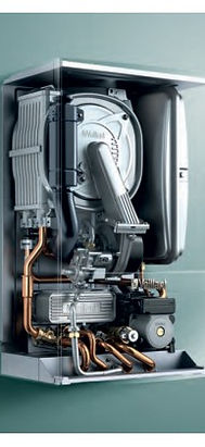 Gas boiler inner workings