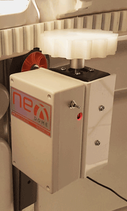 New version of NexDome dome rotation motor and controller