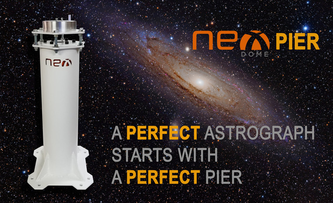 NEW PRODUCT -                         NEXDOME TELESCOPE PIER