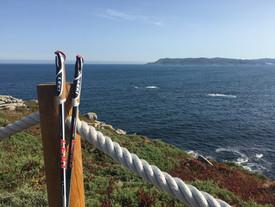 Bastones y mar