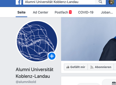 Alumni-Seite auf Facebook