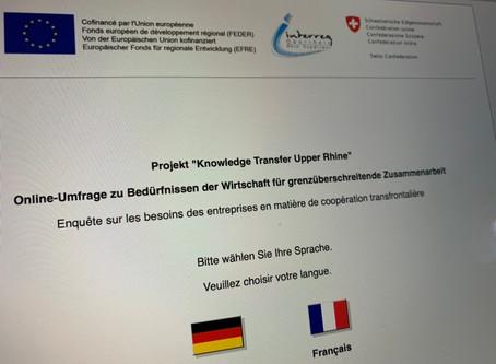 Kooperation zwischen Wirtschaft und Wissenschaft: Einladung zu Umfrage