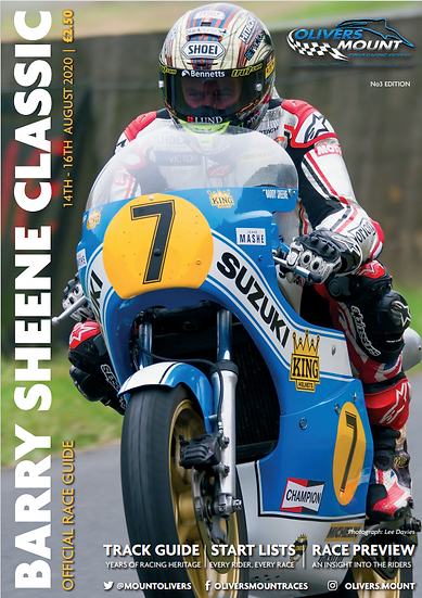 Barry Sheene Classic 2020 Program - A5