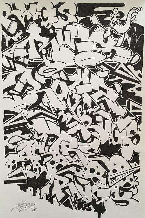 Mixed Rugs Print