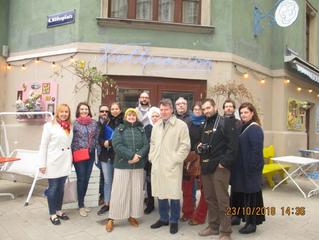 Proiectul RISE – prima întâlnire – Viena, octombrie 2018