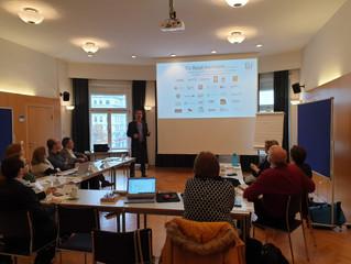 Proiectul European Book Day – prima întâlnire – Viena, noiembrie 2019