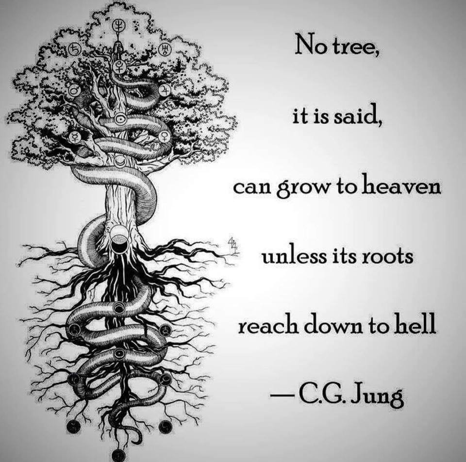 Jung meme with tree