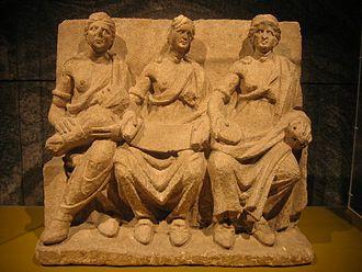Matrones sculpture