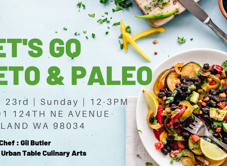 Let's go Keto and Paleo - Cooking Class