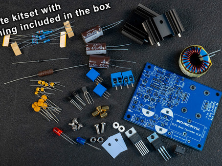 They're finally here! Buy your Buck converter kitsets from the link below