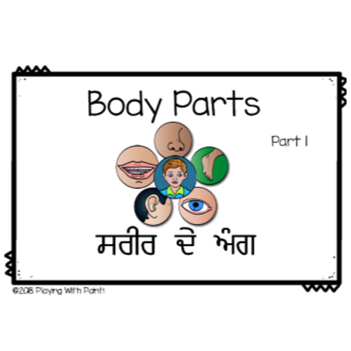 Body Parts Reader