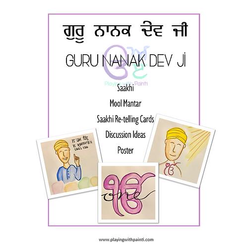 Guru Nanak Dev Ji Activity Set 2