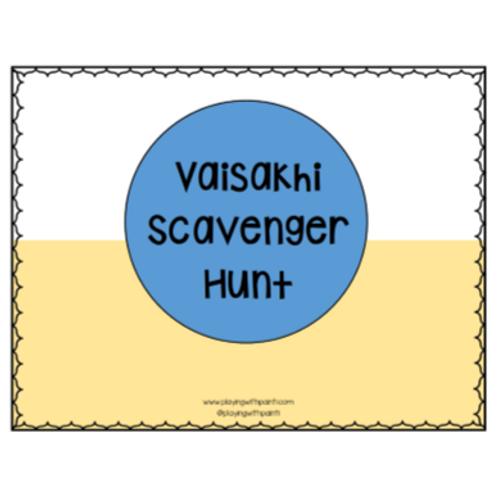 Vaisakhi Scavenger Hunt