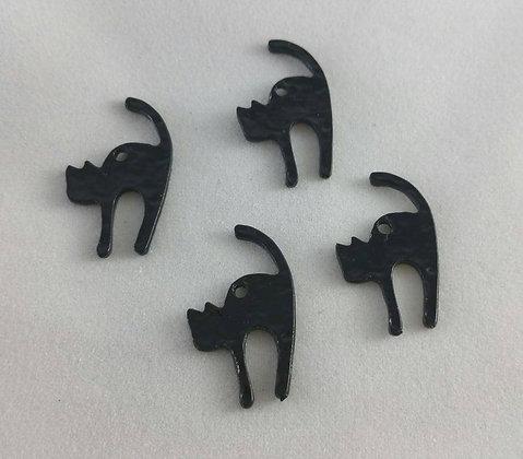 Anhänger, schwarze Katze