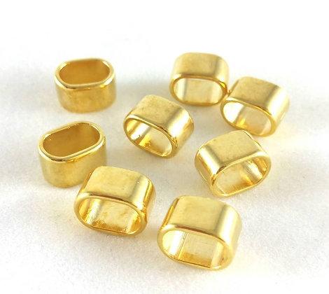 Schieber, Gold (nickelfrei)