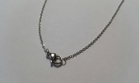 Halskette, antik silber