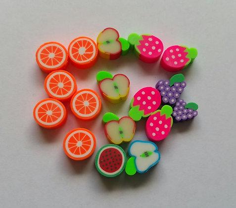 Perlen, Früchte