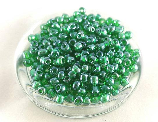 Glasperlen Rocailles, Jade green (50gr.)