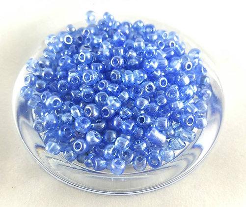 Glasperlen Rocailles, Light Sapphire (78gr.)
