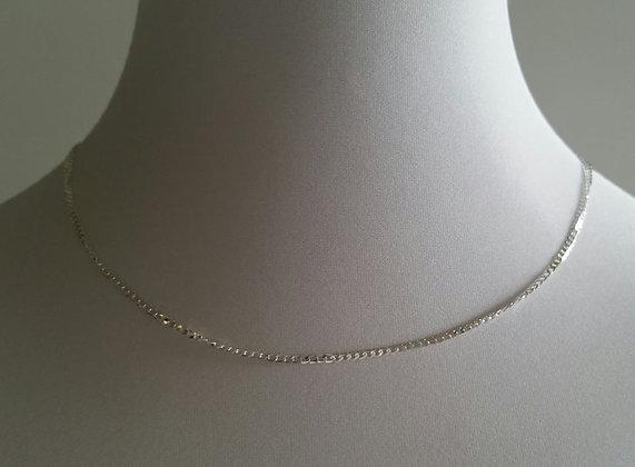 Halskette, 925er sterling silber