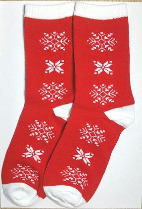 Socken, Schneeflocken