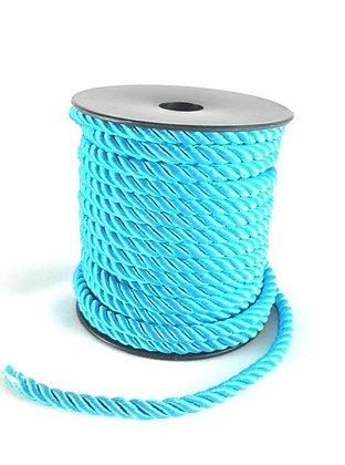 Trendy Kordel Weave, blue zircon