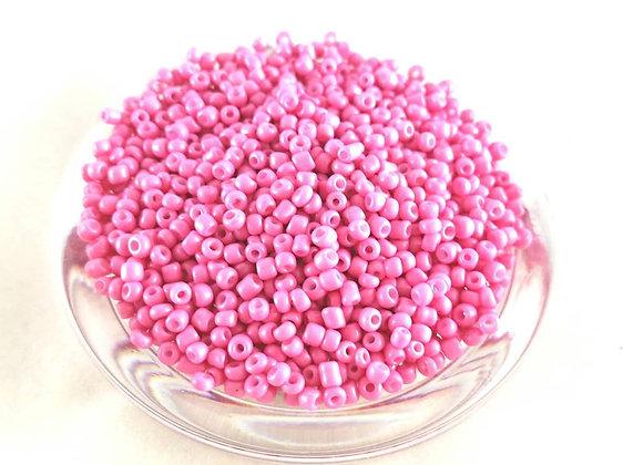 Glasperlen Rocailles, Rouge Pink (50gr.)