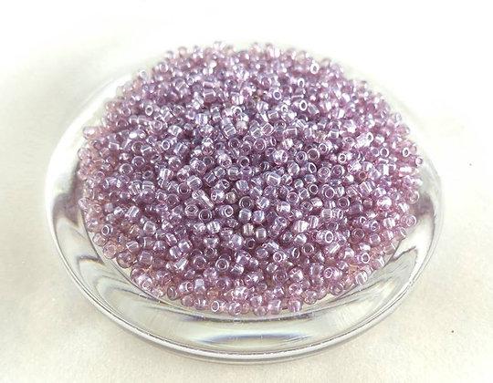 Glasperlen Rocailles, Light violet purple (50gr.)