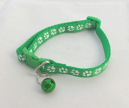 Halsband, Pfoten, d.grün