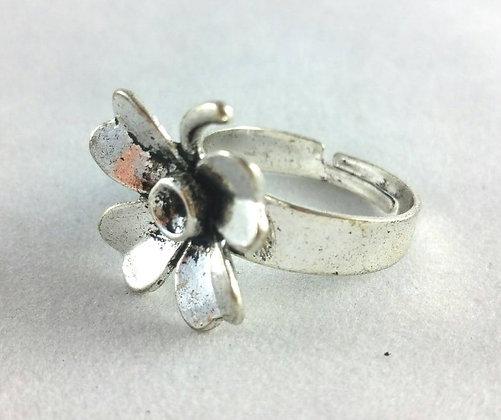 Ring, Antik Blume