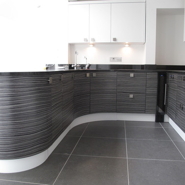 Kitchen by Metris, with granite worktop