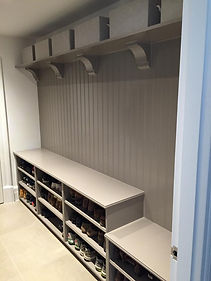 Bespoke boot room storage