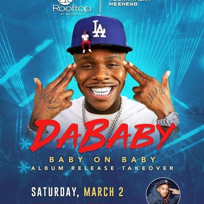 """DaBaby """"Baby On Baby"""" Album Release Party"""