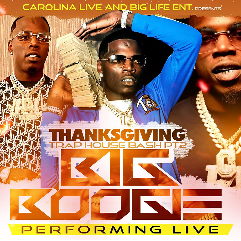 THANKSGIVING TRAP HOUSE PT 2 - BIG BOOGIE PERFORMING LIVE
