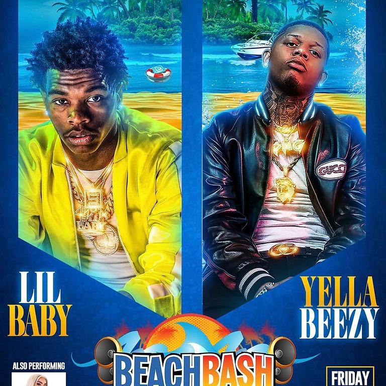 Lil Baby & Yella Beezy Live Beach Bash Music Fest 2019