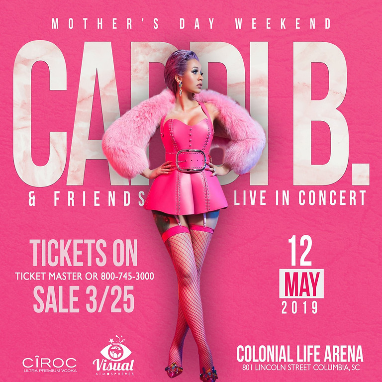 CARDI B. LIVE AT THE COLONIAL LIFE AREA
