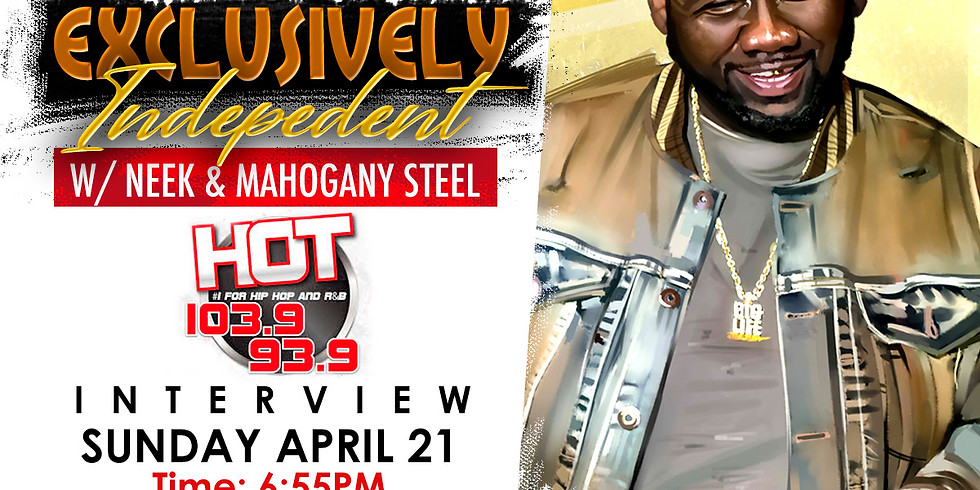 EXCLUSIVELY INDEPENDENT W/NEEK & MAHOGANY STEEL