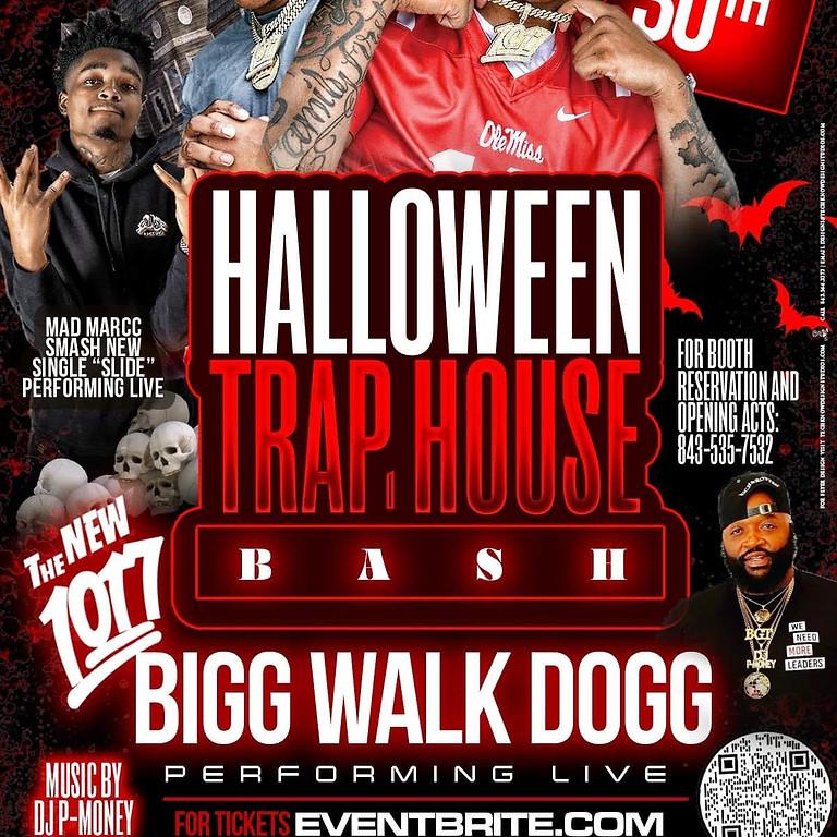 HALLOWEEN TRAP HOUSE BASH -  BIGG WALK DOGG PERFORMING LIVE