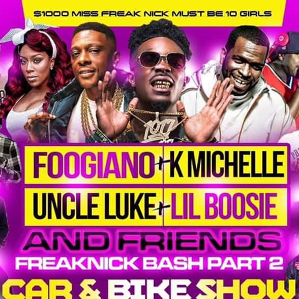 FREAK NICK BASH CAR & BIKE SHOW HOSTED BY UNCLE LUKE