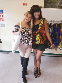 African print casual tops